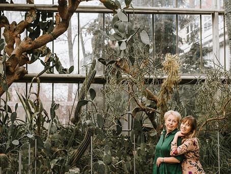 Sesja mamy i córki w Palmiarnii | Sesja na Dzień Matki
