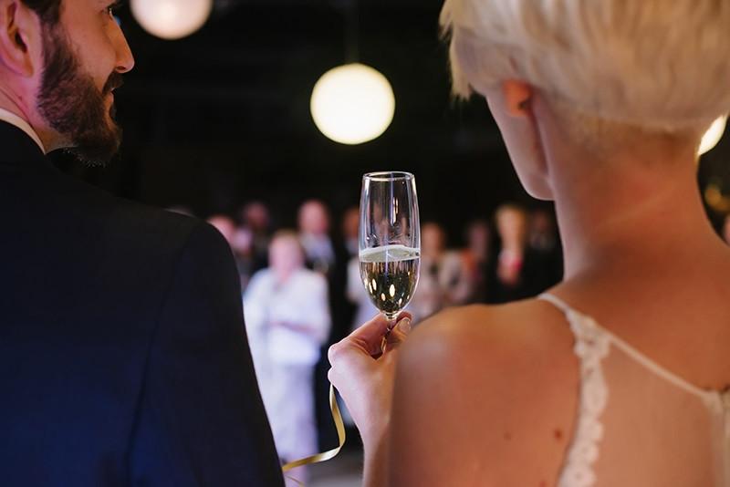 pierwszy toast w Folwarku Wąsowo