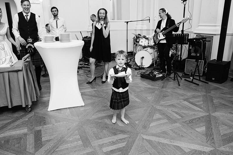 Polsko-szkocki ślub w Bazarze Poznańskim