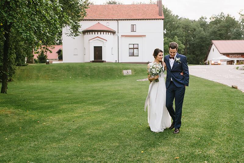 minisesja w dniu ślubu w Bagatelce