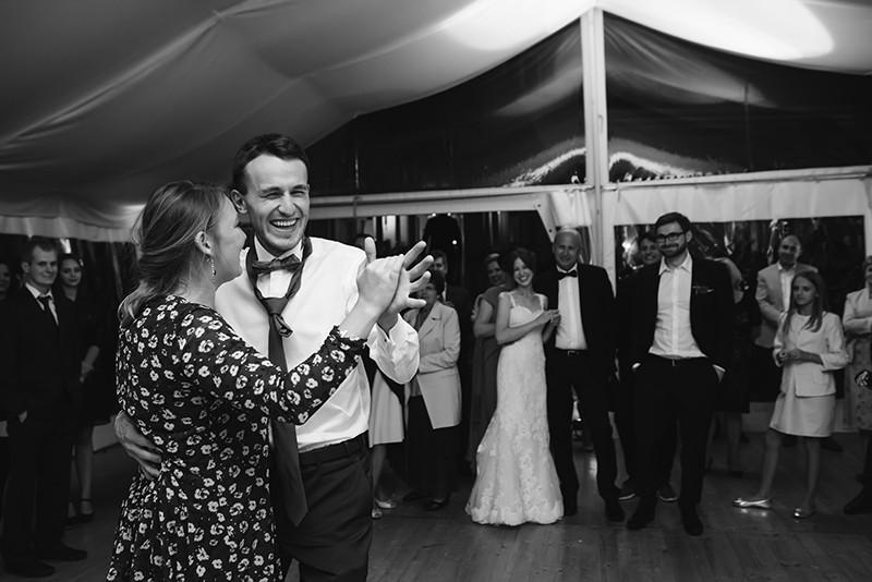 oczepiny taniec nowej pary młodej
