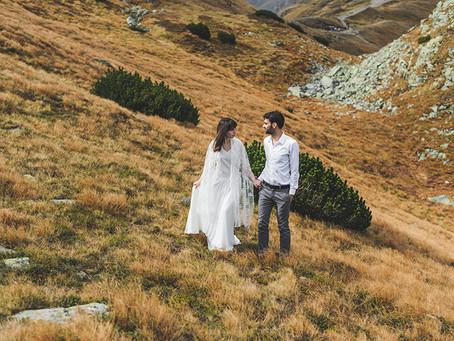 Sesja plenerowa w Tatrach | Fotograf ślubny Zakopane | Kasia i Jacek