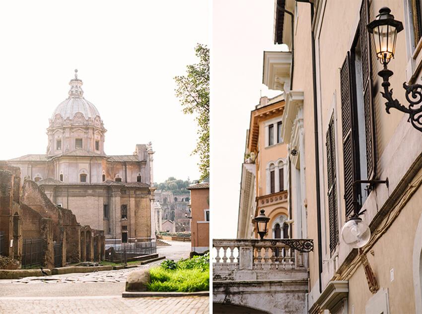 uliczki rzymu