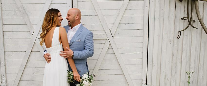 sesja ślubna w Skaczącym Młynie