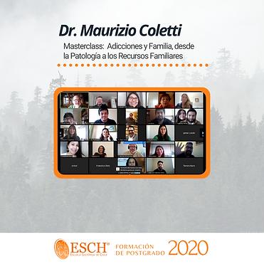02-Masterclass Maurizio Coletti, Adicciones y Familia, desde la Patología a los Recursos F