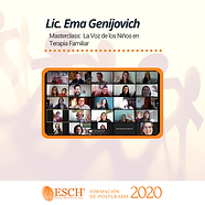 01-Masterclass Ema Genijovich,  La Voz d