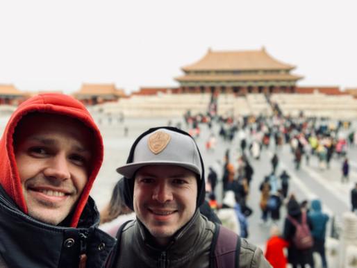 Sifu Jens & Sihing Pascal in China