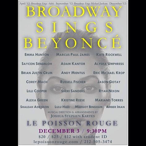 Broadway Sings Beyonce