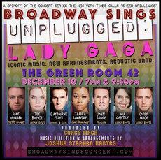 Broadway Sings Lady Gaga: UNPLUGGED