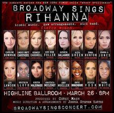 Broadway Sings Rihanna