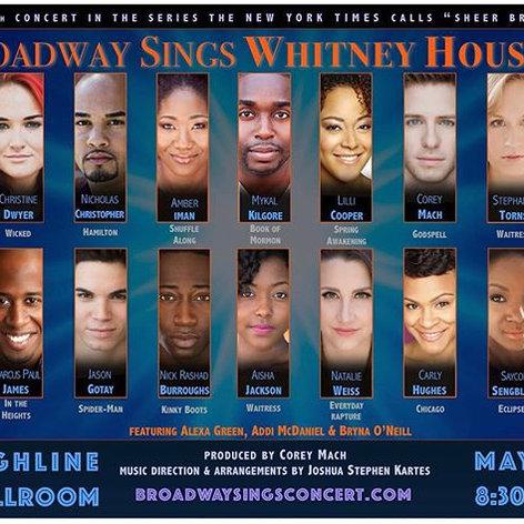 Broadway Sings Whitney Houston