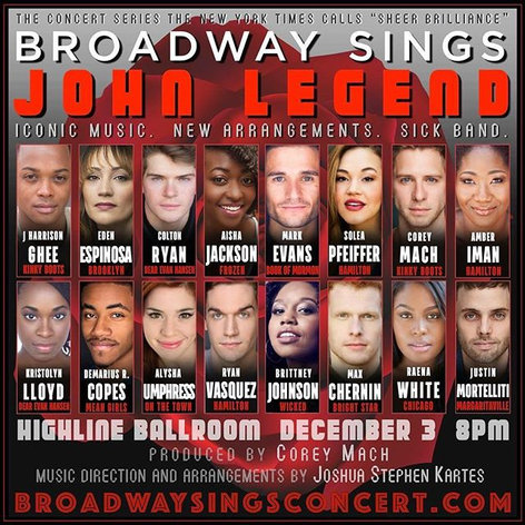 Broadway Sings John Legend