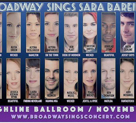 Broadway Sings Sara Bareilles