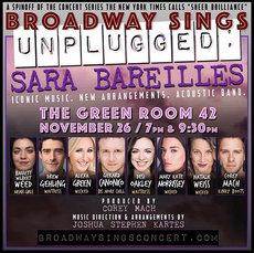 Broadway Sings Sara Bareilles: UNPLUGGED
