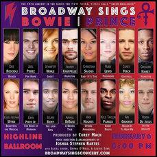 Broadway Sings Bowie Prince