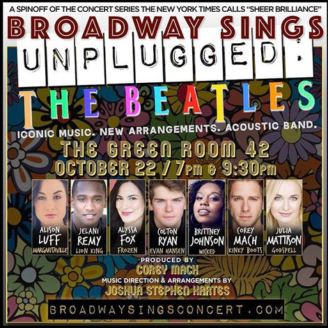 Broadway Sings The Beatles: UNPLUGGED