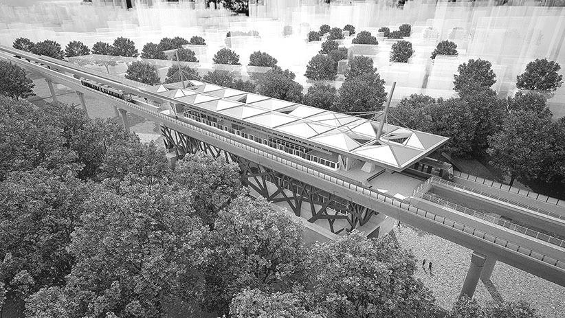 MRT & Train Stations