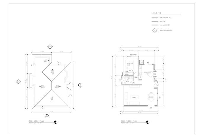 Floor Plan & Roof Plan