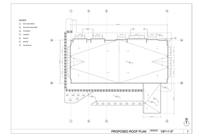 Proposed Roof Plan