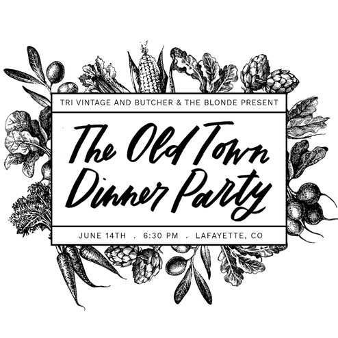 The Old Town Dinner Party!