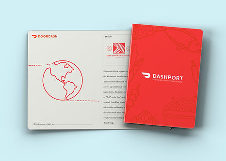 A mockup of the outside of the Physical DashPort