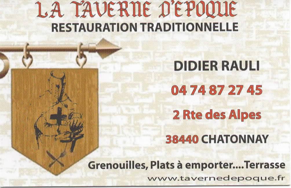 taverne epoque