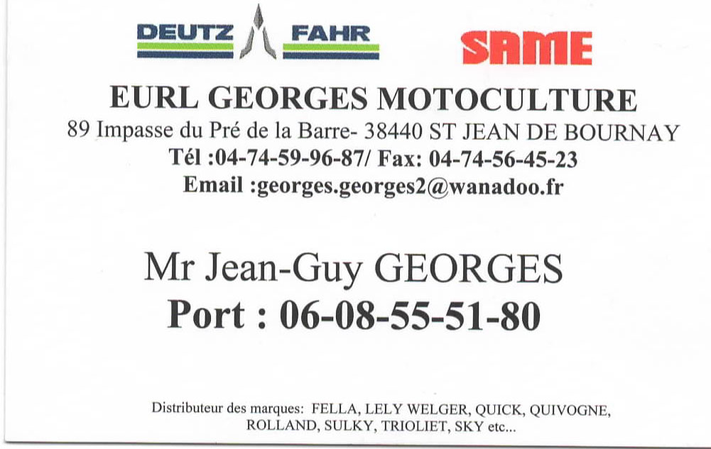 George motoculture