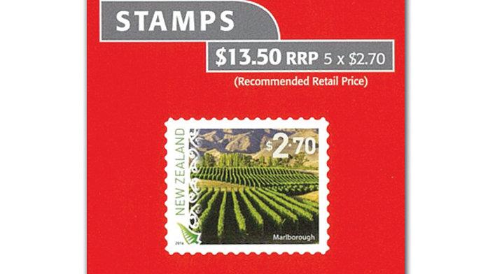 NZ Post Booklets $13.50 (5 x $2.70)