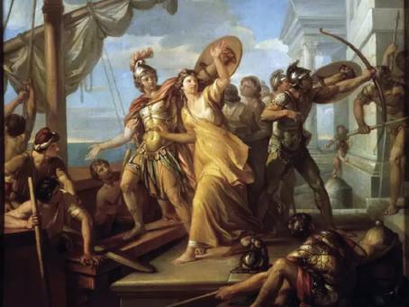 """LECTURA DE TEXTOS CLÁSICOS GRIEGOS. """"Encomio de Helena"""" de Isócrates"""