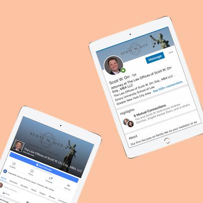 Scott Orr Social Media