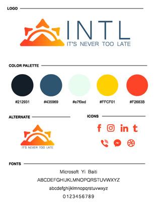 INTL Brand Board
