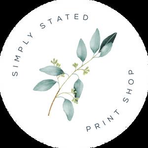 Simply Stated Alternate Logo
