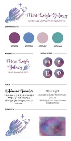 Meri Leigh Galaxy Brand Board