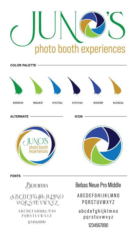 Juno's Brand Board