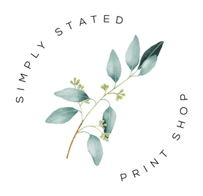Simply Stated Print Shop Submark