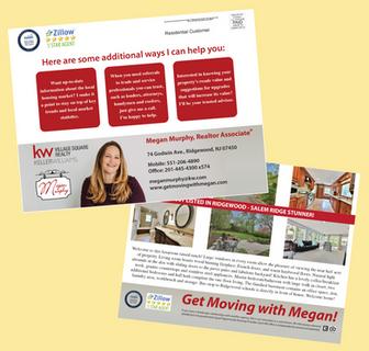 Megan Murphy Postcard Mailer
