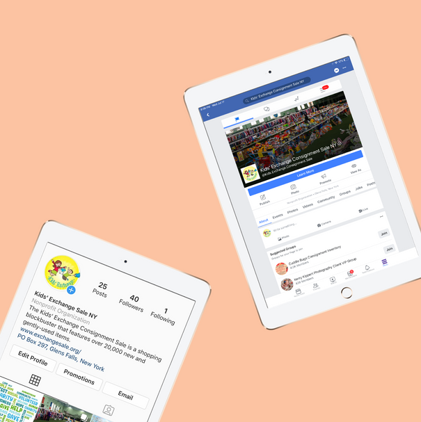 Kids' Exchange Social Media