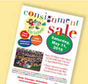 Kids' Exchange Consignment Sale Flyer