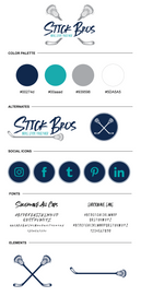 Stick Bros Brand Board