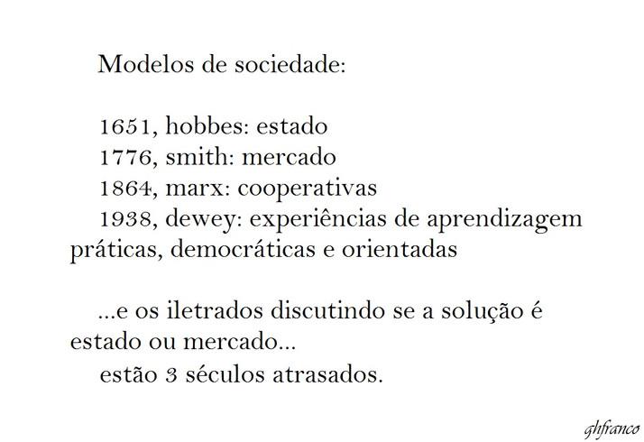 4 Modelos de Sociedade