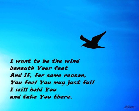 I want to be the wind