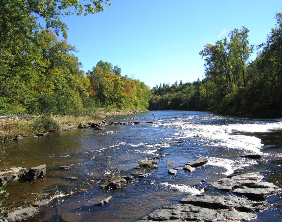 Rivière de L'Assomption à Saint-Félix-de-Valois