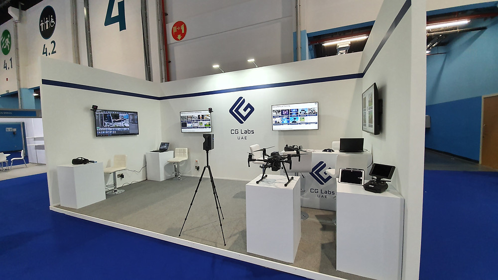 CG Labs at the UMEX 2020 show in Abu Dhabi with Lorenz AI-Link®