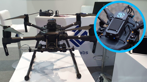 The Lorenz AI-Link® mounted on DJI Matrice 210