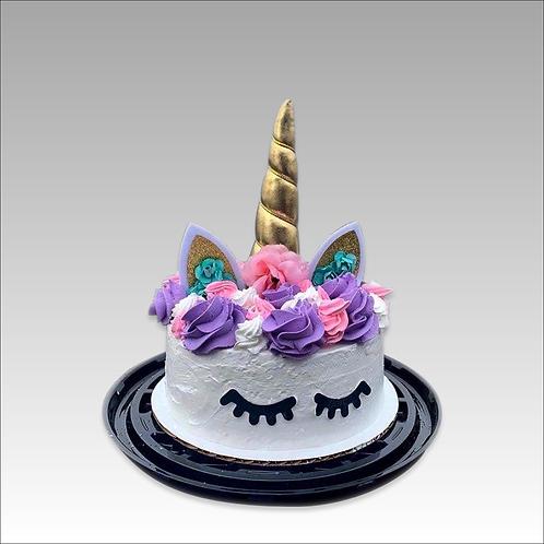 "8"" Unicorn Ice Cream Cake (serves 8-10)"