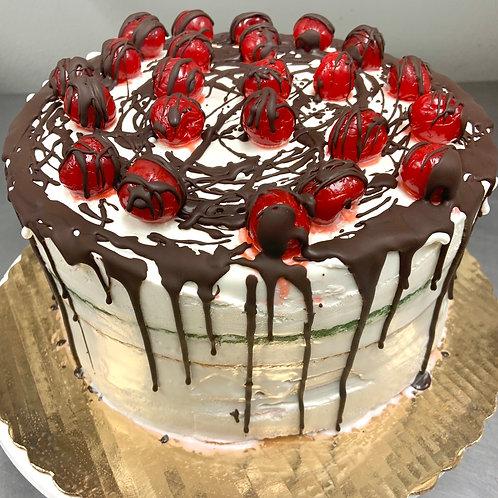 Rainbow Cookie Ice Cream Cake (serves 8-10)