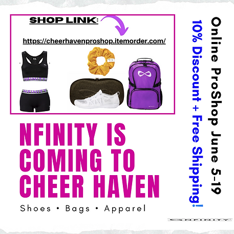 Nfinity  is coming to cheer haven (2).pn