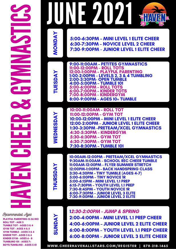 Haven June 2021 Class Schedule (1).png