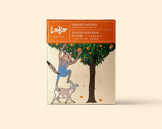 Sabonete Natural de Laranja & Leite de Cabra