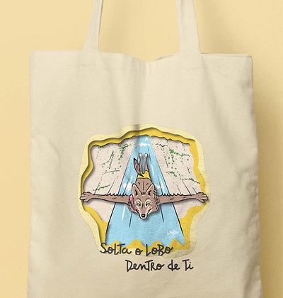 Tote Bag Solta o LoBo Dentro de Ti